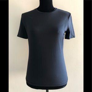 Prada Black Short Sleeve Activewear Top